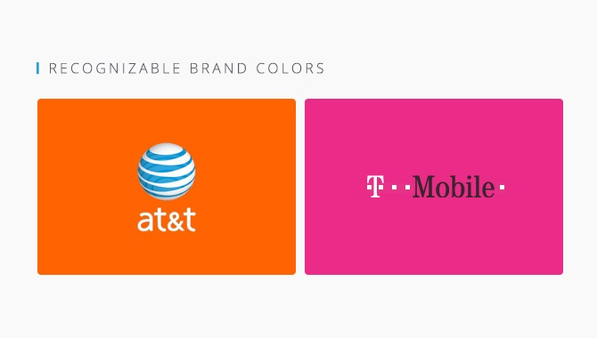 ATT and T-Mobile Logos