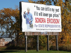 Funny Candidate Sign