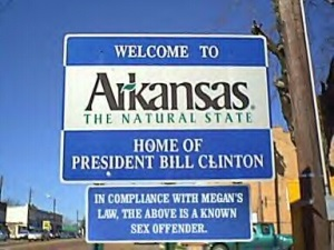 Funny Clinton Sign