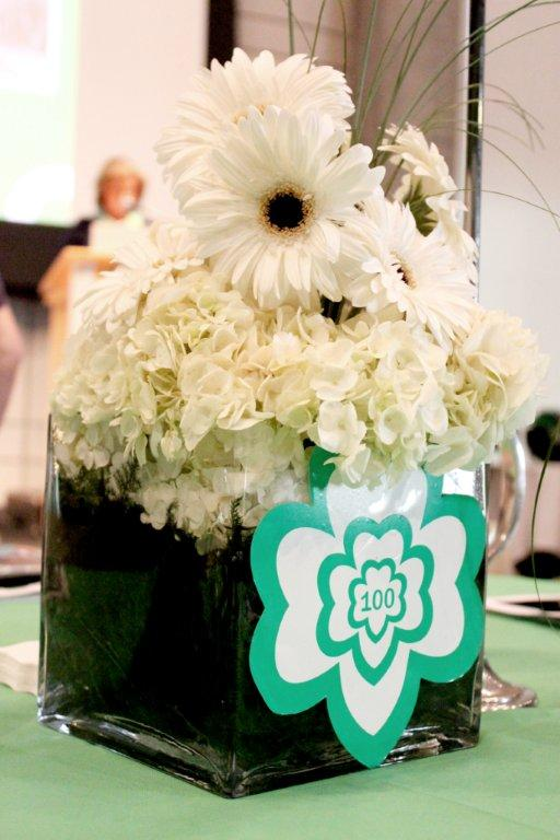 Girl Scouts Vase